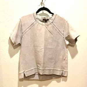 Banana Republic Terry structured Top Short Sleeve